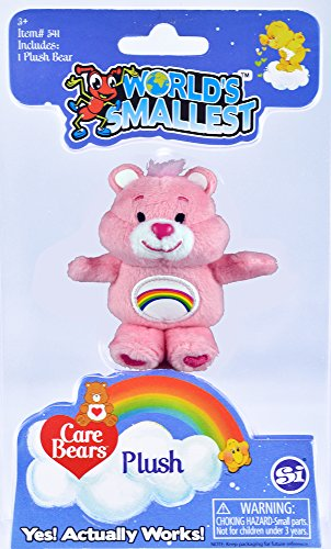 Worlds Smallest Care Bears (Styles May Vary), - Style Miniature Bear Teddy
