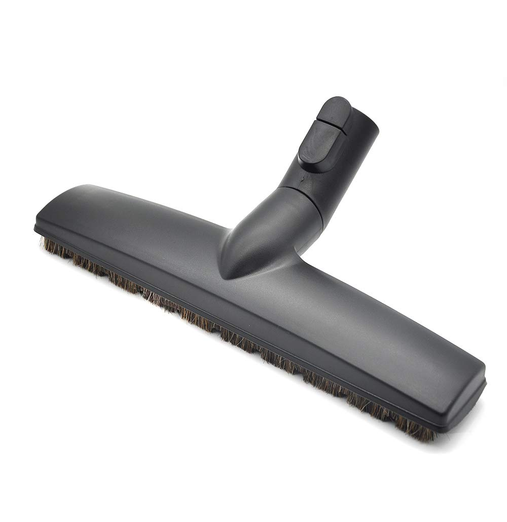 EZ SPARES Replacement of SBB Parquet Anti-Collision Smooth Floor Brush with Horsehair for Miele Vacuum Cleaner 35mm 1 3/8""