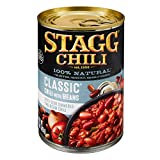 Stagg Classic Chili With Beans, 15 Ounce (Pack of 6)
