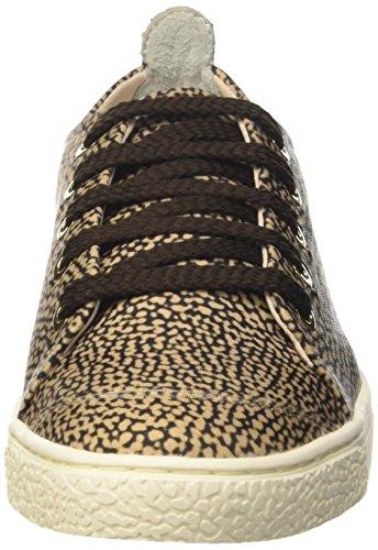 Women's Shoes Op Naturale 306 Tennis Borbonese 6dh983d01 Brown tRx1qwqdX