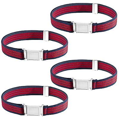 Buyless Fashion Kids Boys Adjustable Elastic Belt with Magnetic Buckle