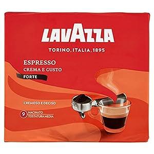 Lavazza Espresso Crema e Gusto Forte Miscela di Caffè - 500 g