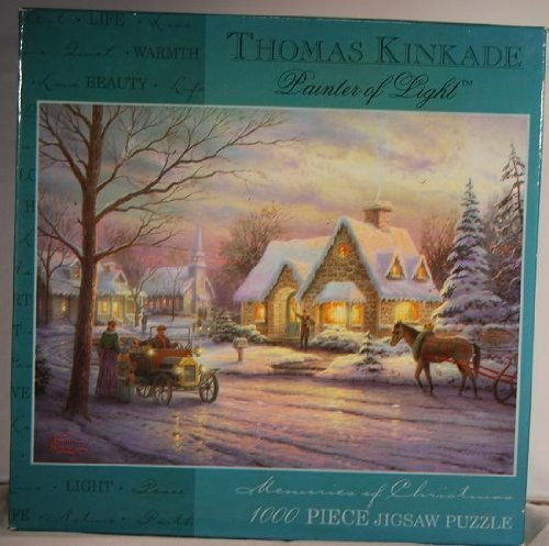 Thomas Kinkade Painter of Light Puzzle: Memories of Christmas by Ceaco