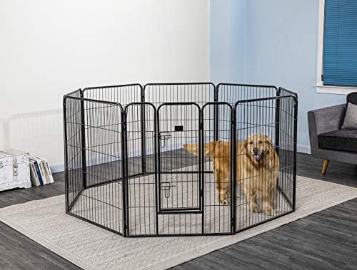 Go Pet Club Heavy Duty Exercise Pen for Dogs