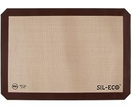 Sil-Eco E-99126 Non-Stick Silicone Baking Liner, Half Sheet Size, 11-5/8\