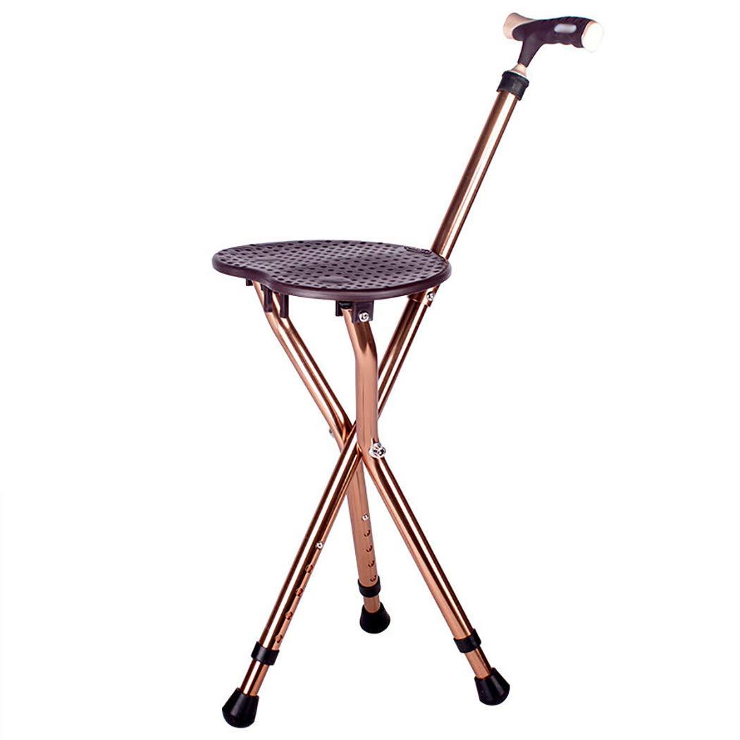 ホットセール YGUOZ 杖椅子 杖 杖 折りたたみ 高齢者のために、ステッキ椅子 携帯型とLED懐中電灯 YGUOZ、ステッキ 5 B07P6BJYZ6 高さ調節可能、母の日 父の日 敬老の日 プレゼント,brown brown B07P6BJYZ6, ワーキングユニフォームストア:de91c804 --- a0267596.xsph.ru