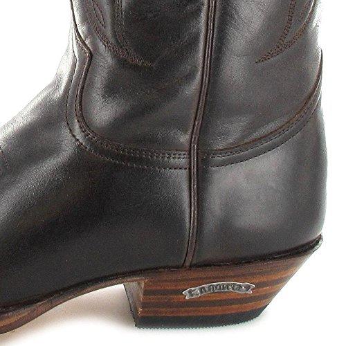 Sendra De Botas unisex de Snowbut Marron Vaquero 2073 Boots cuero nBTxBrHw