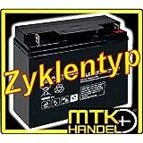 Longex 12LCP-19 / 12V - 19Ah Blei Akku Zyklentyp AGM - Deep Cycle