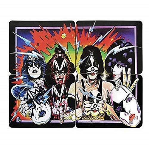 KISS Unmasked Coaster Set of -