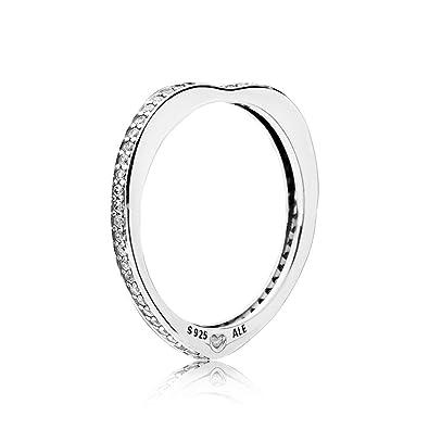 993c240ec Pandora Women Silver Ring - 197095CZ-60: Amazon.co.uk: Jewellery