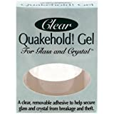 Quakehold! 22111 Gel for Glass and Crystal, Clear by Quakehold!