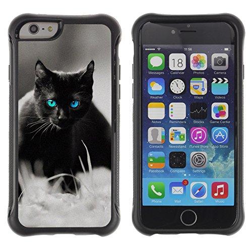 STPlus Gato en una caja Animal Carcasa Funda de Caucho Blando A Prueba de Choques Para Apple iPhone 6 Plus / 6S Plus #13