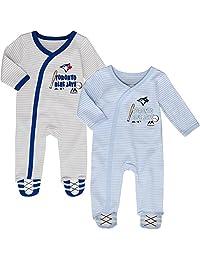 Toronto Blue Jays Newborn Baseball's Best 2-Piece Long Sleeve Coverall Set