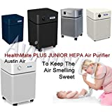 Austin Air Healthmate Junior PLUS Air Purifier – Providing Relief For the Chemically Sensitive (White)