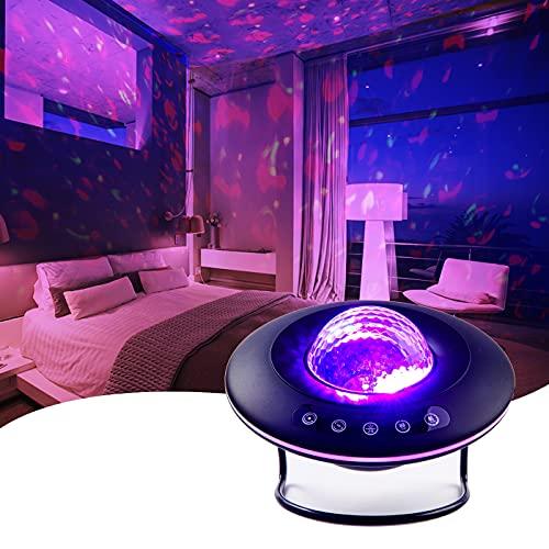 ITINGJOY LED Star Projector Light, Galaxy Lighting, Night Light and Bedroom Ambiance (UFO Version)