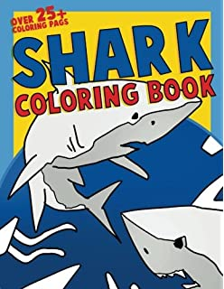 Sharks Coloring Book 30 Illustrations For Your Child To Color