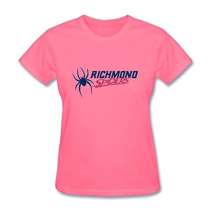 d2qk3 F Logo del equipo de fútbol americano CAA Richmond arañas mujeres camisetas