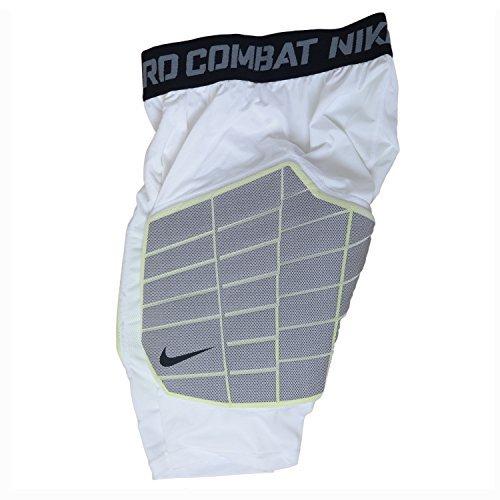 (Nike Pro Combat Hyperstrong De-tech Impact Resistant foam girdle 2XL White)