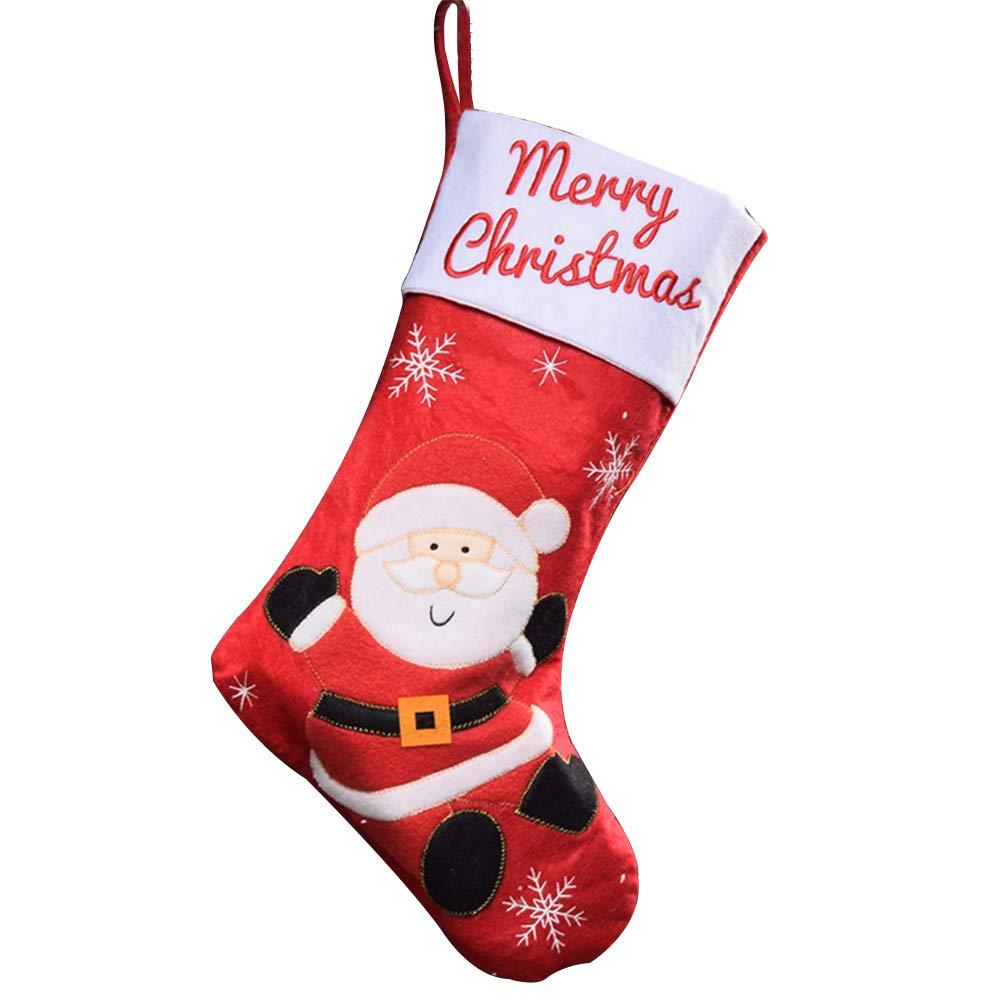 Xuxuou Nikolausstiefel Nikolaussocke Weihnachts Socke ...