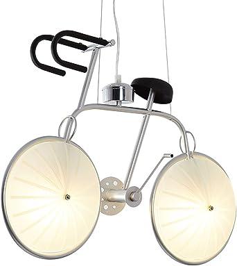 Lámparas LED creativas, post-moderno cromo metal vidrio ...