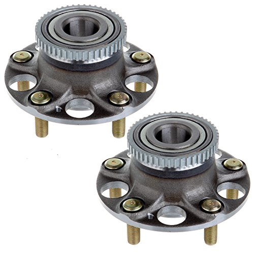 (SCITOO Compatible with Pair (2) New Rear Complete Wheel Hub Bearing Assembly fit Honda Accord 512188 X 2)