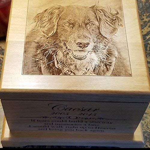 Large Pet Memorial urn Pet Cremation Urn Memorial Gifts Dog Lovers Gifts Custom Urn Personalized Dog Keepsake Urn Cat Urn Cat Memorial Pet Memorial Box large dog urn for ashes
