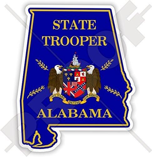 ALABAMA State Police, Highway Patrol Door Seal USA America, Alabamian American 3.7