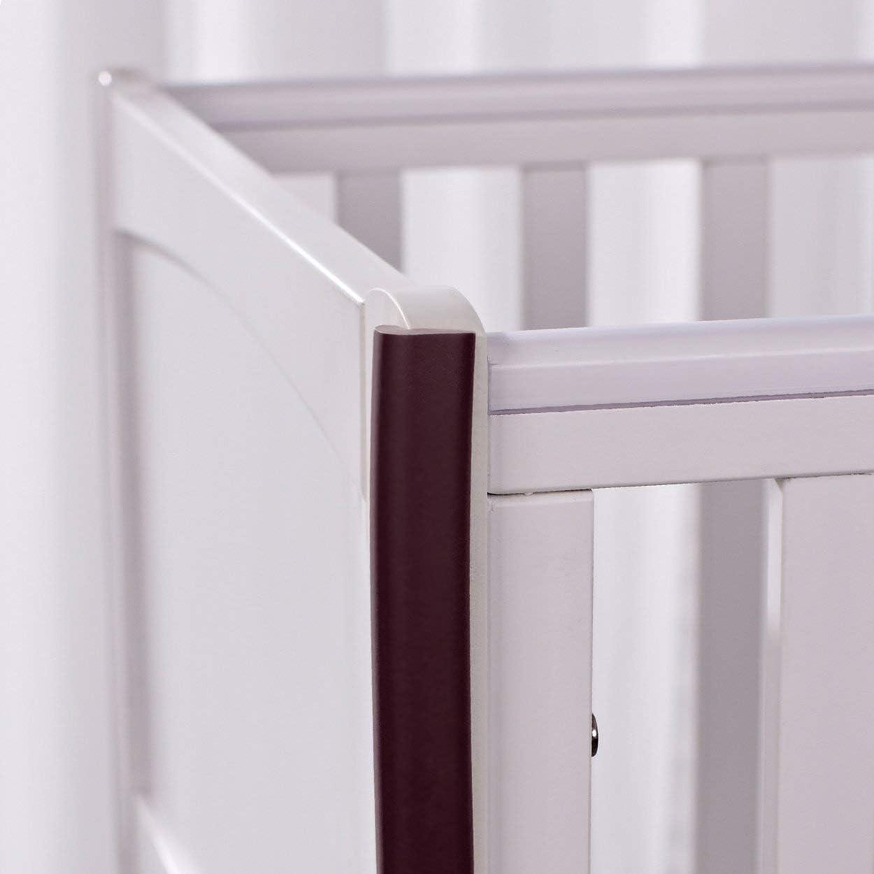 Lodenlli 2M en Forma de U Muebles Extra Gruesos Borde de Mesa Corne r Protecciones Cubierta de Escritorio Protectores Espuma Baby Safety Bumper Guard