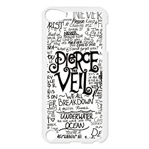 Diy Yourself Pierce The Veil Custom case cover for iPod Touch 5, Ttk1Reva4RX VICustom iTouch 5 protective Cover - Retail Packaging