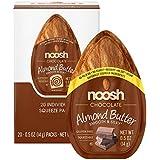 Noosh Almond Butter (Chocolate, 20 Count) - Vegan, Gluten Free, Non GMO, Kosher, No Soy, No Dairy, No Peanuts