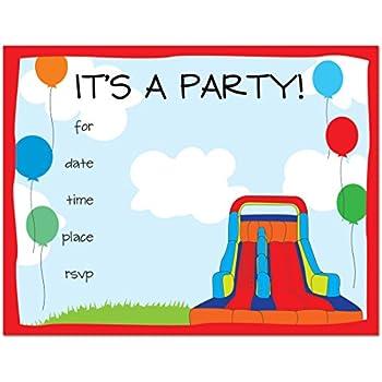Amazoncom 24 Bounce House Fillin Kids Birthday Party