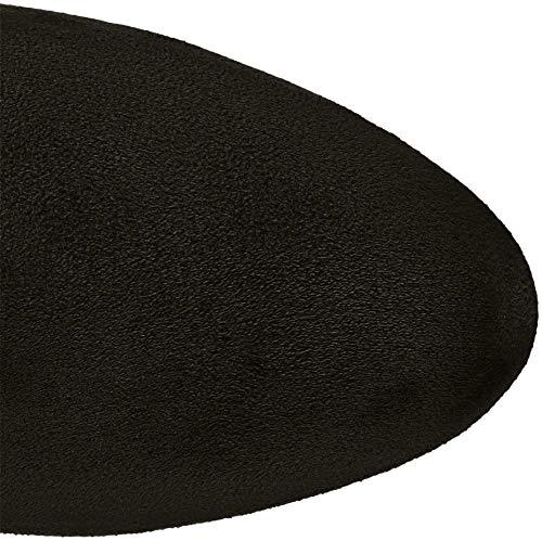 25505 black Femme Hautes Noir 21 1 Tamaris Bottes Zd4Bq6wHH