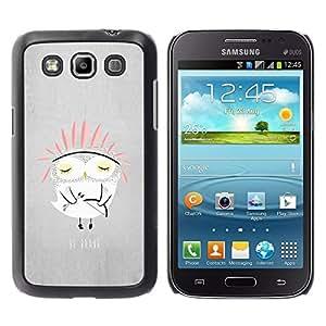 Be Good Phone Accessory // Dura Cáscara cubierta Protectora Caso Carcasa Funda de Protección para Samsung Galaxy Win I8550 I8552 Grand Quattro // Owl Indian Kids Cute Story Parents N