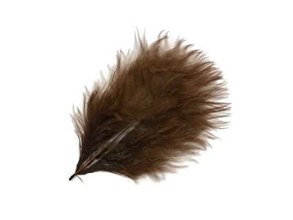 Craft and Fly Fishing Supply Feathers ZUCKER\u00ae Regal Loose Turkey Marabou Feathers Turkey Feathers Short and Soft Fluffy Down