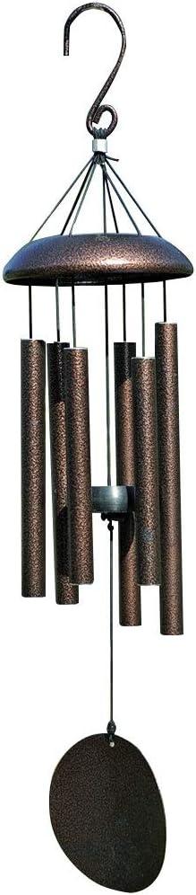 LIXFL Carillon de Vent ext/érieur 6 Tubes en m/étal Creux en Aluminium d/écorations suspendues Cadeau Musical de Carillon de Vent pour la d/écoration int/érieure et ext/érieure de Jardin Cour Salon de j