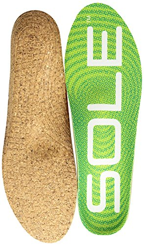 SOLE Unisex Active Medium + Met Pad Green 12 Women / 10 Men US