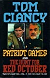 Patriot Games and The Hunt for Red October by Clancy, Tom (1992) Hardcover