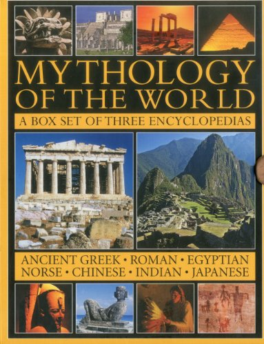 Mythology of the World Box Set: Ancient Greek, Roman, Egyptian, Norse, Chinese, Indian and Japanese