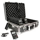 Williams Sound DWS TTGS 10 Digi-Wave Team Tour Guide System 10 (One-way), Two-presenter/multiple-listener system, Frequency-hopping technology subject to less interference, offering greater reliability in an array of tour group applications, Four independ