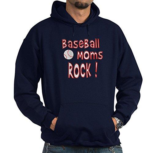 Baseball Moms Rock (CafePress - Baseball Moms Rock ! Hoodie (dark) - Pullover Hoodie, Classic & Comfortable Hooded Sweatshirt)