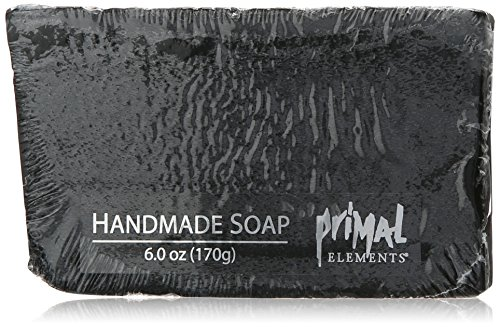 Primal Elements Shrink Wrap Soap, Bamboo Charcoal
