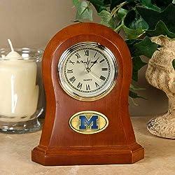 Memory Company Michigan Wolverines Desk Clock