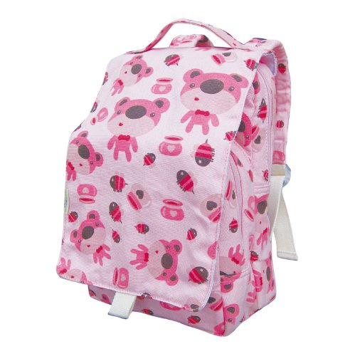 ecogear-ecozoo-dually-bear-print-lunch-tote-pink-one-size