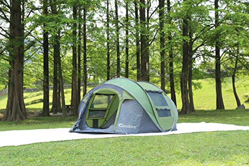 1f6d71dc47d Candora Camping Tents 4-6 People Instant Pop Up Easy Quick Setup, 2 ...