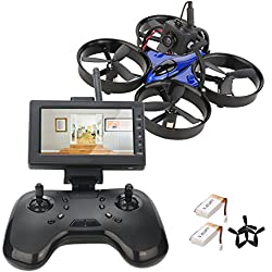 DLFPV Mini FPV RC Drone with LCD Monitor Receiver