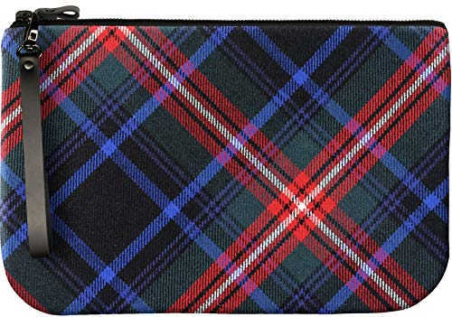to Bag With Leather Medium an Enough Fit Large Tartan Braveheart iPad Clutch Eqpx1w8