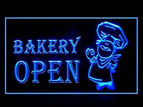 Amazon.com: Panadería tienda de Baker s Open Pan fresco luz ...