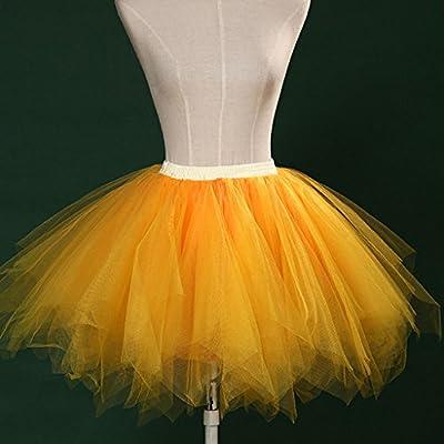 VIccoo - Falda Corta para Mujer y niña, diseño de Ballet, Color ...