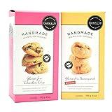 Cookie It Up Gluten Free Shortbread Cookie's | 2 Pack | Gluten Free Chocolate Chip | Gluten Free Butterscotch