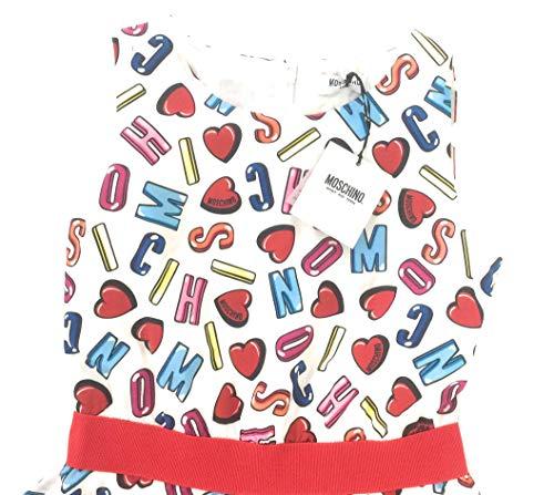 Donna Poliestere Ragazza Fodera 100 Cotone Tessuto Abito ruota Principale Tulle 100 Moschino 12A Cotone a Taglia Xxs Taglia 100 xqH4wOaF